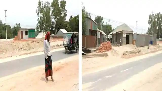 কাজিপুরে সরকারী জায়গায় তেলের পাম্প ও দোকান স্থাপন