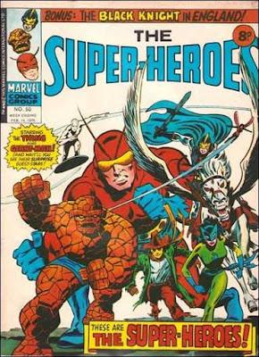 Marvel UK, the Super-Heroes #50