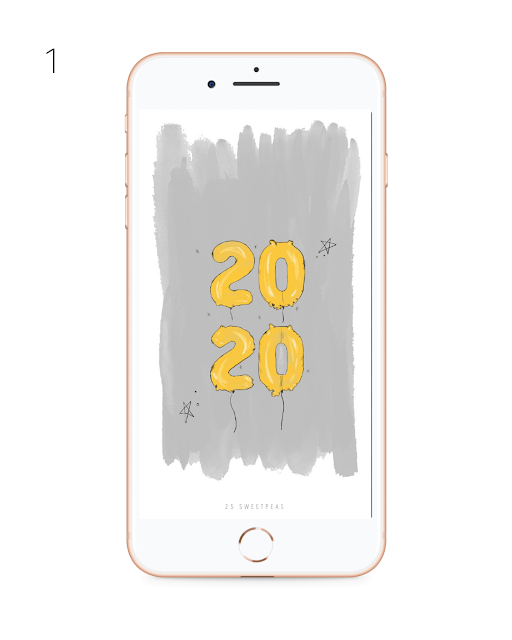 Free iPhone New Years Wallpapers