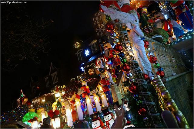 Casa de Lucy Spata en el Barrio de Dyker Heights en Brooklyn