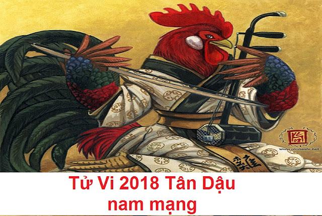 Tu vi 2018 Tan Dau nam mang