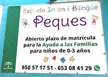 """Escuela Infantil Bilingüe """"Peques"""""""