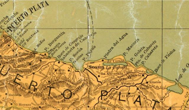 antica mappa puerto plata