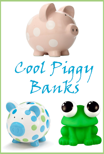 Cool Piggy Banks - Cute Money Boxes