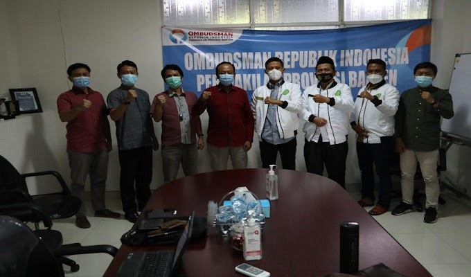 Ombudsman Banten Sambut Baik Dukungan dari Ketum KESTI TTKKDH