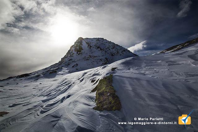 Anticima Nord della cima dell'Uomo