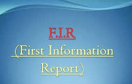 I want to know that anyone report FIR against me