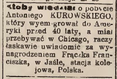 Jasło ogłoszenie prasowe 1931