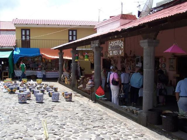 Artesanías en Huasca de Ocampo