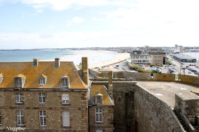 Vista Panoramica di Saint Malo dal Castello