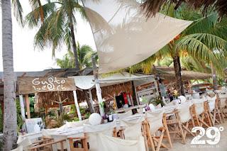 Gusto Beach Club i fina Samara