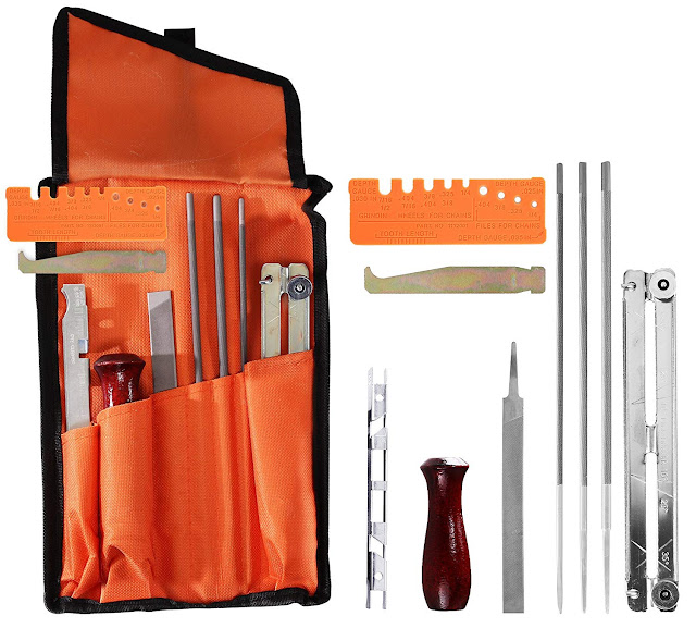 arnolo chainsaw sharpening kit