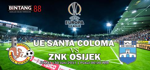 Prediksi Bola UE Santa Coloma vs ZNK Osijek 30 Juni 2017