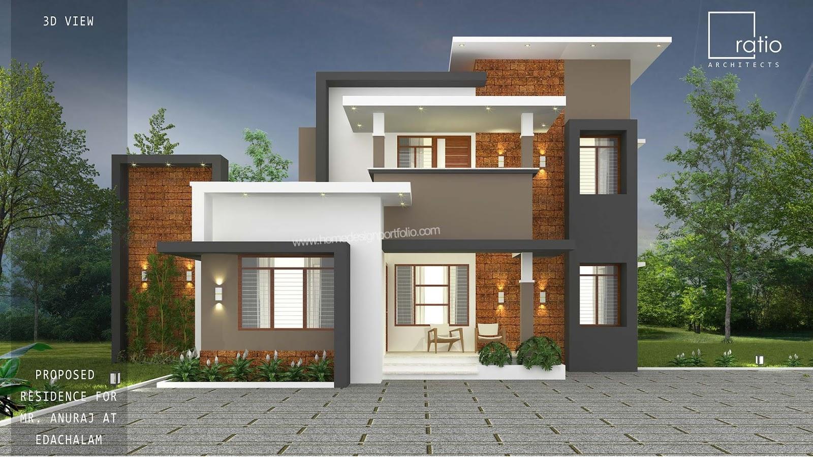 30 Lakh 1770 sq ft 4 Bedroom Malappuram Home design idea