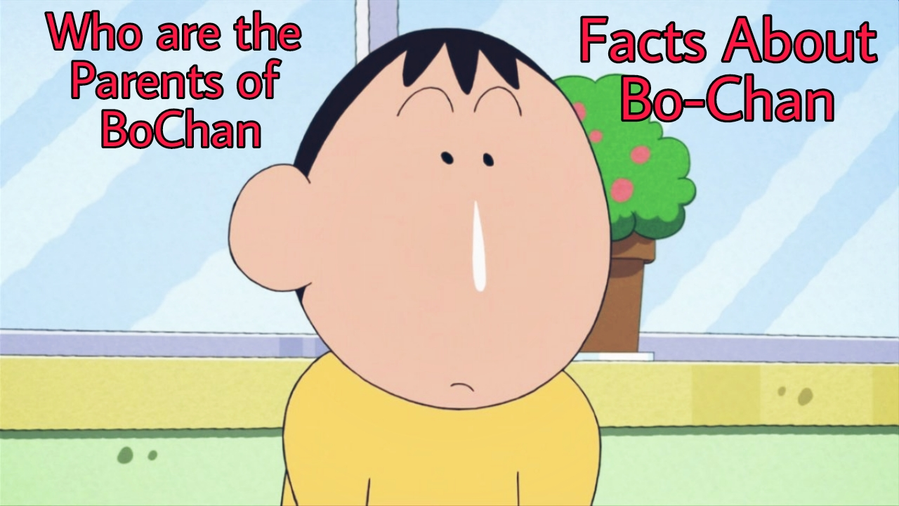 Who is Bo-Chan | Who are the Parents of BoChan in Shinchan | Facts About BoChan in Shinchan