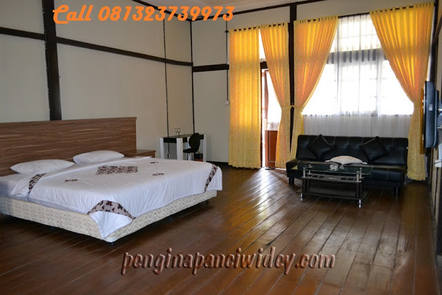 Booking villa di area wisata kawah putih dari lumajang