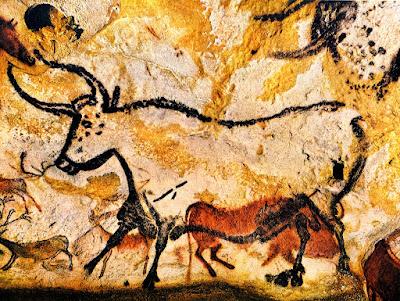 esempio di pittura rupestre nelle grotte di Lascaux storia dell'arte paleolitico preistoria