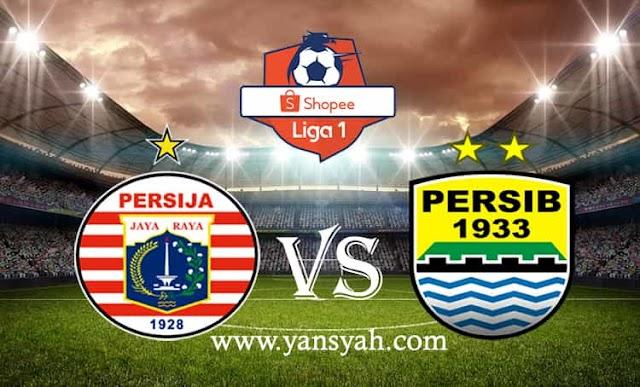 Hasil Pertandingan Liga 1, Persija Jakarta vs Persib Bandung