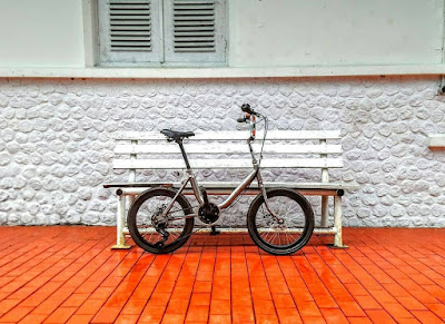 Sepeda minion yang lucu dan asik digunakan