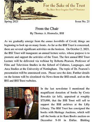 BSI Trust Spring 2021 Newsletter