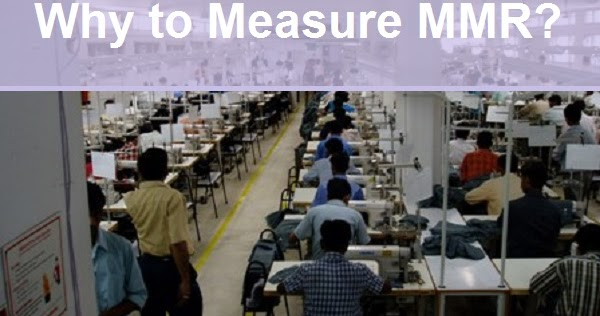 why do we need to measure man to machine ratio in garment