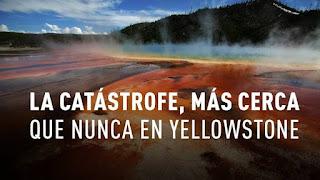 El manto bajo el supervolcán de Yellowstone se extiende hasta California y Oregón.