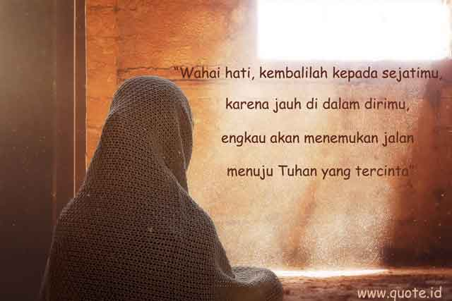 Motivasi Menyentuh Hati Kata Mutiara Islami Penyejuk Hati ...