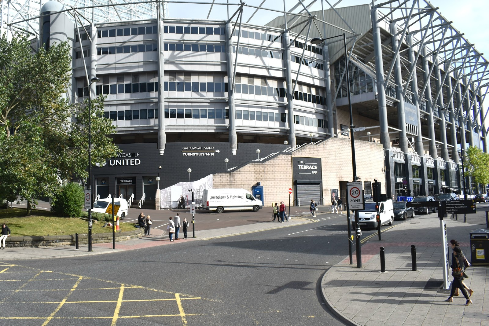 Toon Tour - St James Park