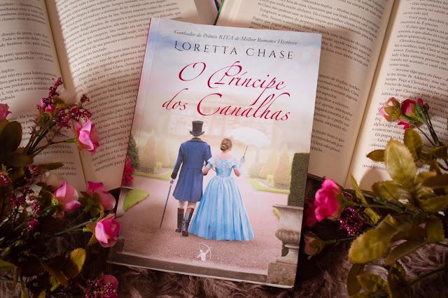 Resenha, literatura estrangira, Livro O Príncipe dos Canalhas - Loretta Chase, blog pensamentos Valem Ouro
