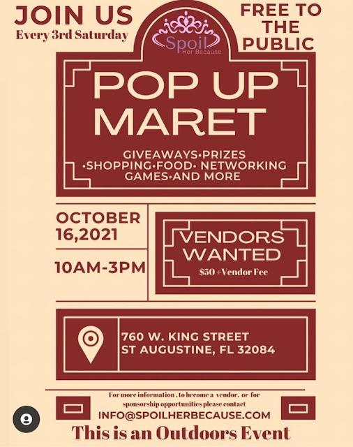 West Augustine Pop-Up Market