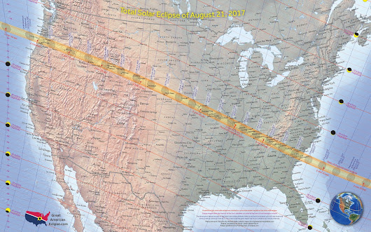 2017 TOTAL SOLAR ECLIPSE! Start planning NOW!