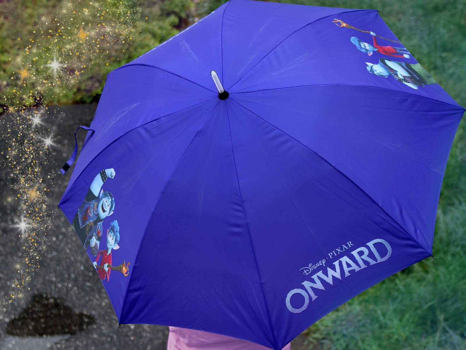 pixar onward light-up umbrella