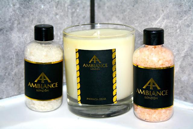 Ambiance London Phoenicia Cedar Candle