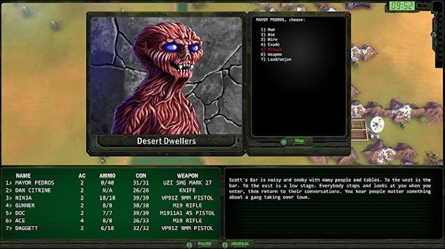RPG de apocalipse clássico Wasteland Remastered já está disponível