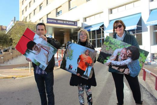 El Arnau acoge la exposición fotográfica 'Sin miedo' de personas que han superado una enfermedad hematológica