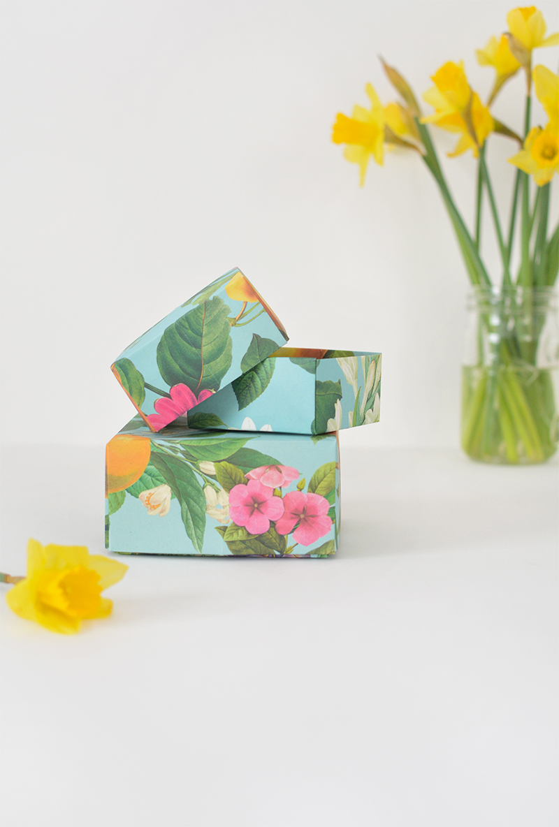 origami gift box tutorial