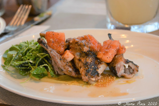 anding Grilled and Marinated Quail