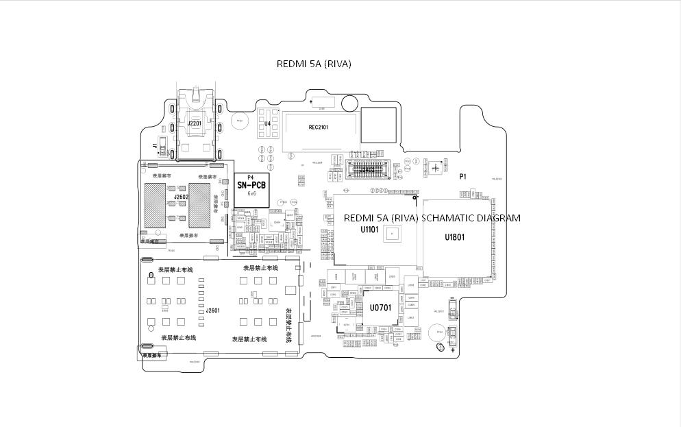 Download Xaiomi Redmi 5a  Riva  Schematic Diagram  Mi Riva 5a Pdf