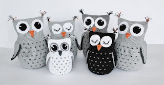 Free Amigurumi Owl Pattern : Free amigurumi patterns swedish owls
