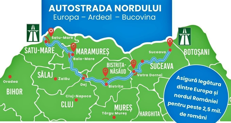 Autostrada Nordului - Vatra Dornei