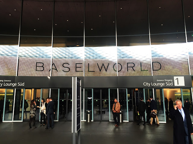 photo of the entrance to baselworld 2016 basel switzerland