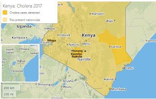 cólera no quênia