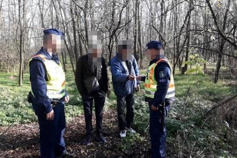 Újabb két határsértőt fogtak el a Békés Megyei rendőrök