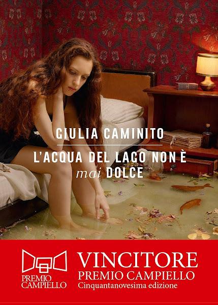La copertina del libro L'acqua del lago non è mai dolce di Giulia Caminito