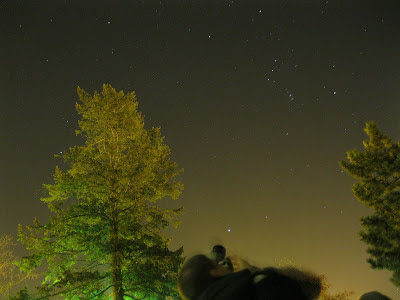 self portrait with orion