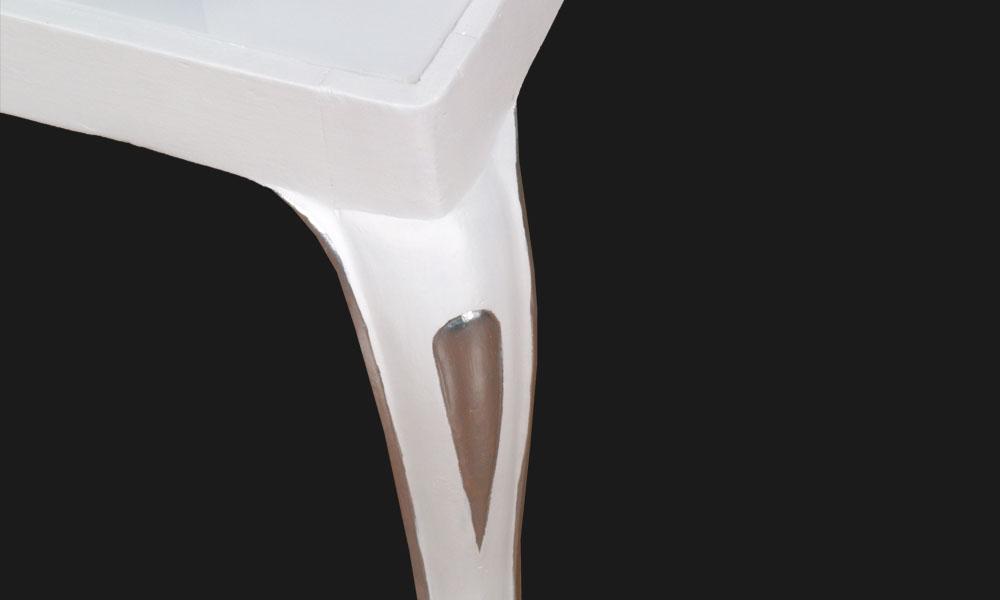 Sedie plexiglass luminose illuminazione led barocco for Sedie barocche