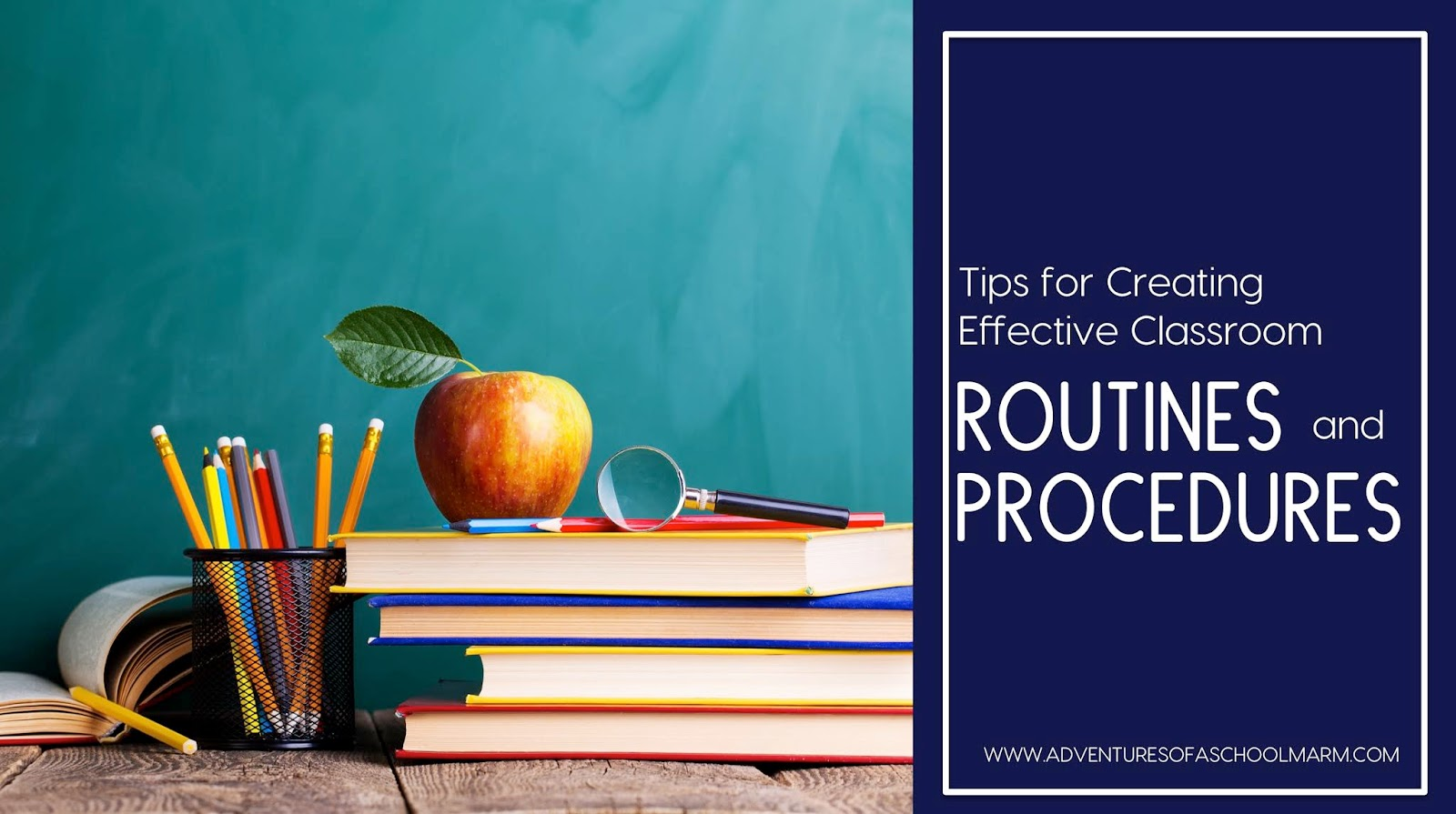 Master your classroom routines and procedures so your students can become masters of their own learning!