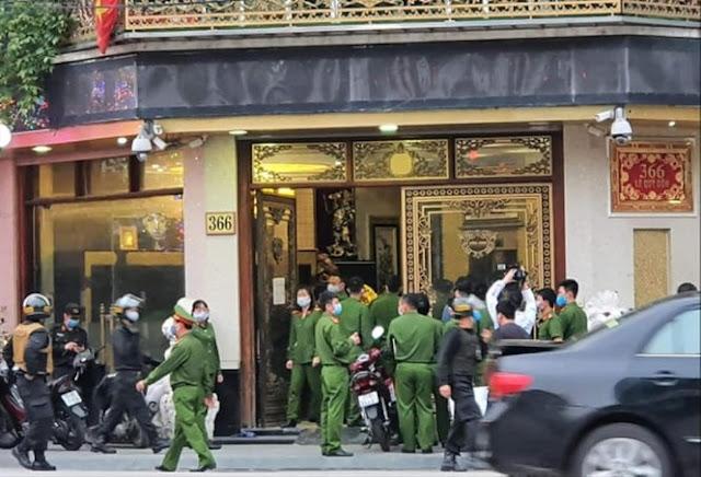 """Những """"Sếp"""" Công An nào ở Thái Bình bị dân bị dân tố cáo bảo kê cho Đường Nhuệ?"""
