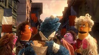 The Les Misérables, Cookie's Crumby Pictures presents Les Mousserable, French monster Jean Bonbon, Sesame Street Episode 4411 Count Tribute season 44