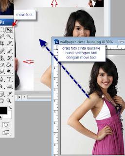 Membuat Foto Menjadi Artis dengan Photoshop